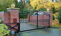 Iron Fence Gate